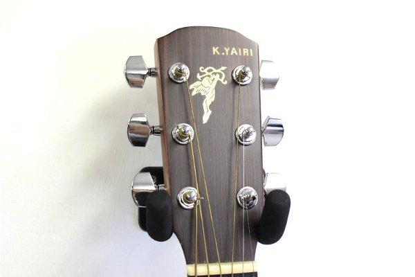 ギターヘッドの天使のインレイ