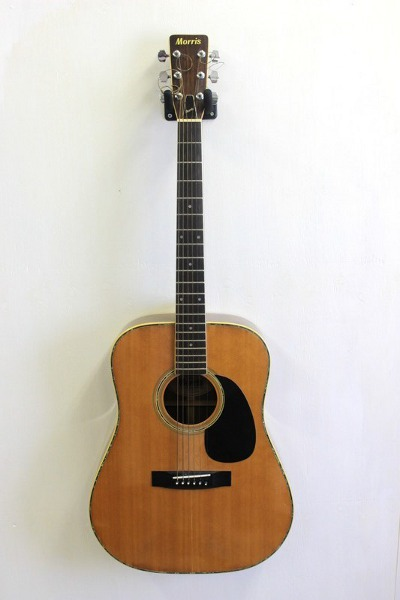 Morris(モーリス)のアコースティックギターを買取しました