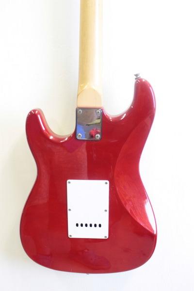 SXのエレキギターの背面